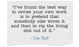 Editing quote by Don Roff