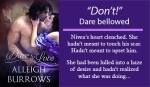 Dare to Love cover and excerpt