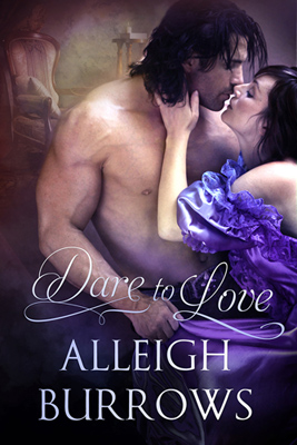 Cover of Dare to Love. Lord Landis and Nivea kissing